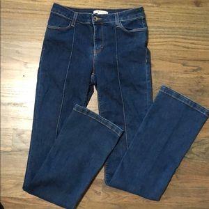 Alice + Olivia high rise bootcut Jeans Size 28 EUC